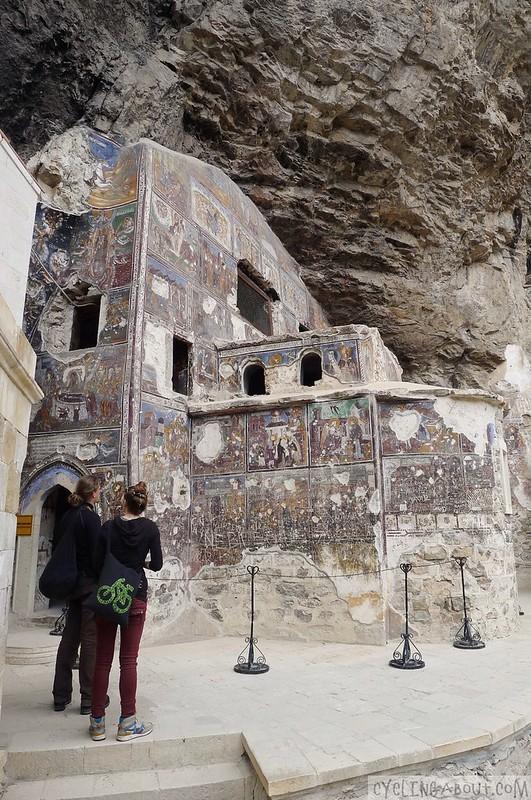 Sumela Monastery painting