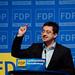 Arian Kriesch am FDP-Ladesparteitag in der Debatte