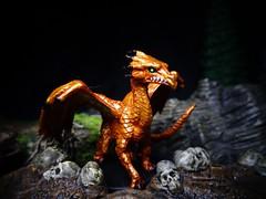 Baby Brass Dragon