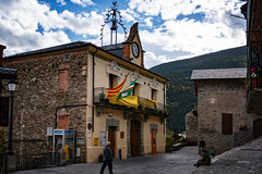 Town hall of Queralbs in the Pyrenees, Catalonia, Spain