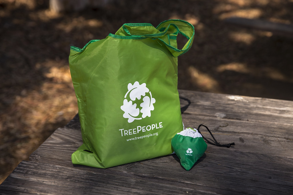 TreePeople Tote Bag