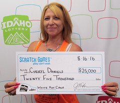Cheryl Daniels - $25,000 White Hot Cash