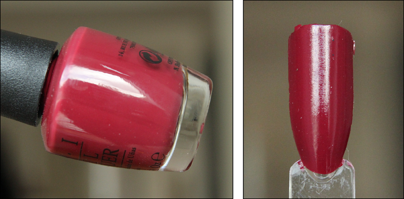 OPI We the female swatch