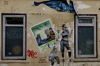 Street of Paris - Between Windows