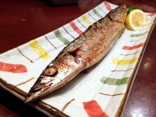 Grilled Beaker Fish