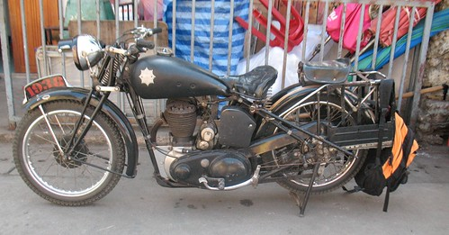 1938 BSA Motorcycle