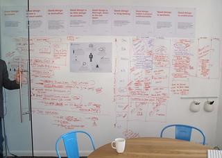 MOO meeting room wall