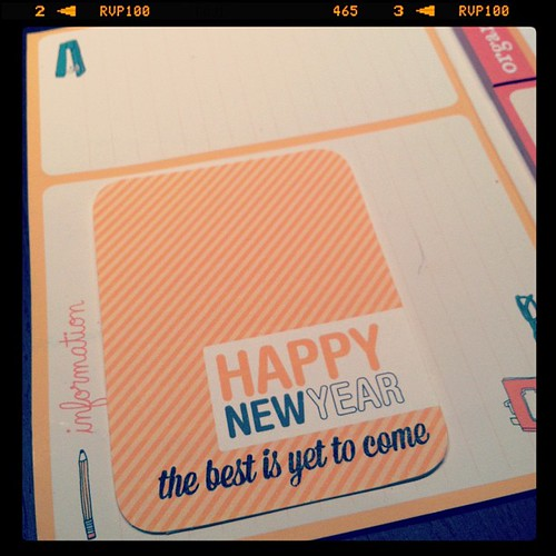 Slowly working on this year's #projectlife with @cathyzielske freebies and @studio_calico stamps
