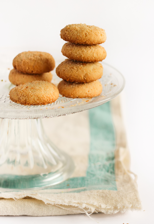 Condensed Milk Coconut Cookies