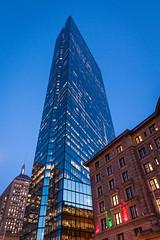 John Hancock Tower, Blue Hour
