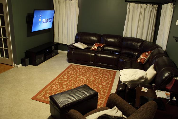 Home Theatre Living Room Tv Setup