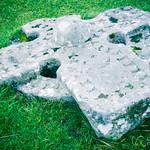 Celtic Cross, Kilmuir Cemetery - Isle of Skye, Scotland
