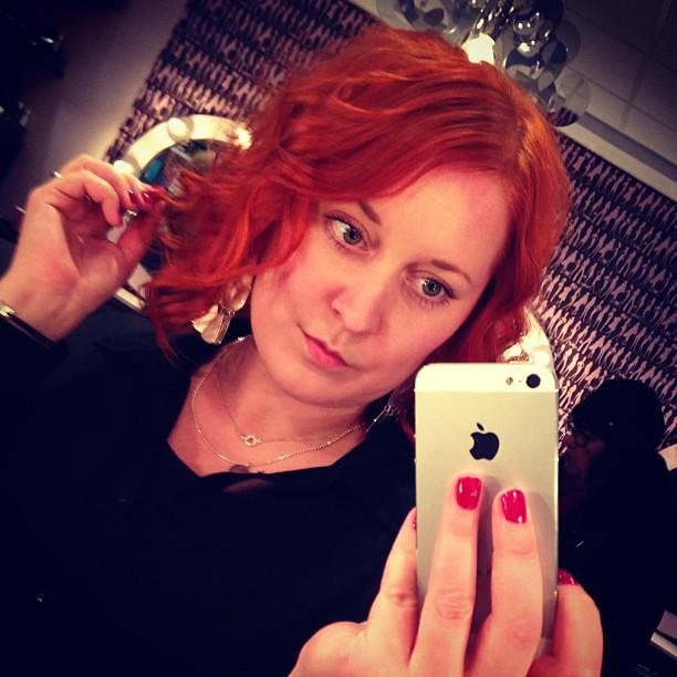 Nu är allt som det ska igen. #redhead