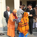 Narayana Seva - Distribution of blankets and food to the poor - Jan 13, 2013