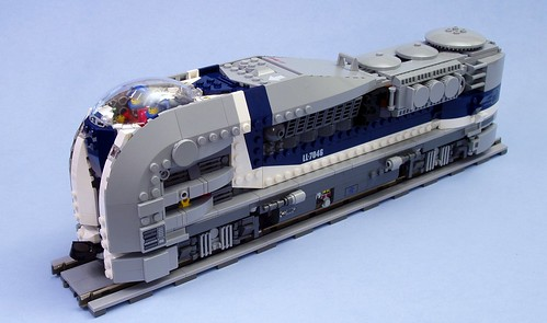 SD44-1 Nuclear Locomotive