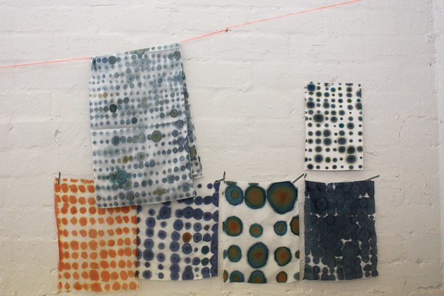 Experimental Printing and Dyeing with Joanna Fowles - January 2013