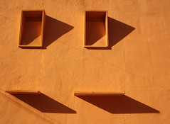 False windows, Kota Bharu (swallows' nests?)