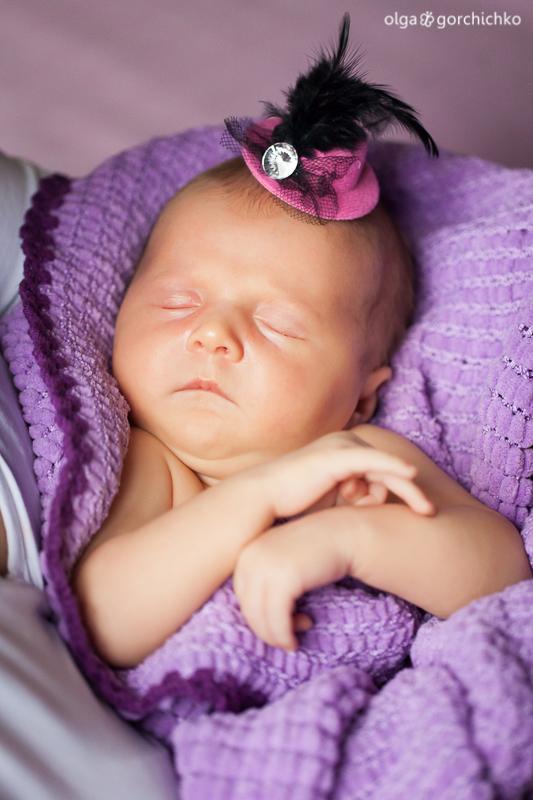 Новорожденная Машенька