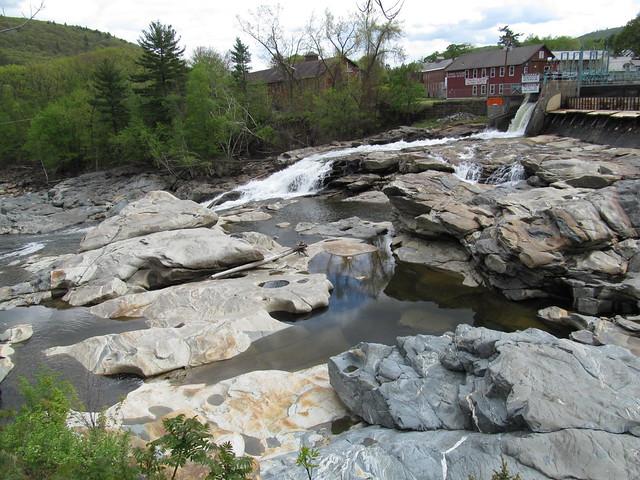 Glacial Potholes Shelburne Falls Massachusetts