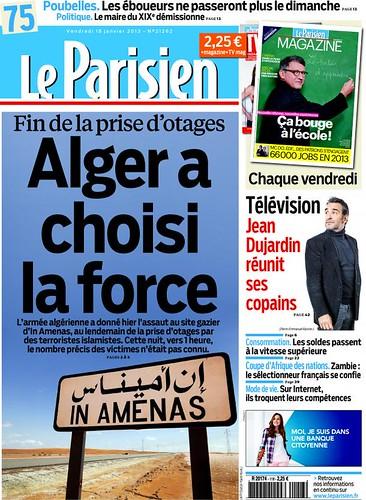 leparisien-cover-2013-01-18 - 無料写真検索fotoq