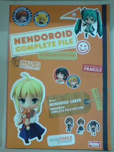 Good Smile Hobby JAPAN Nendoroid Saber Casual Complete File Limited Edition