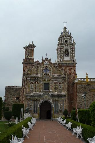 Templo de San Francisco Actepec - Actepec, Mexico