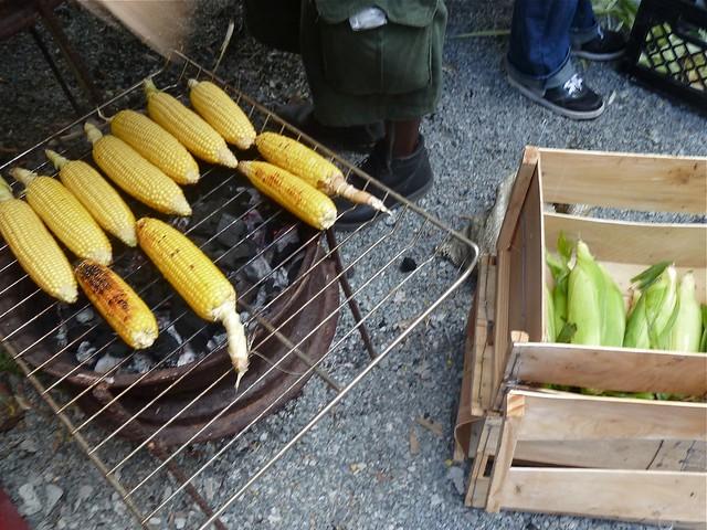 roast corn
