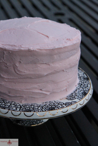 Red Velvet Strawberry Chocolate Cake