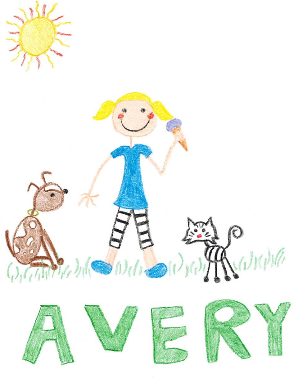 8-year old artwork
