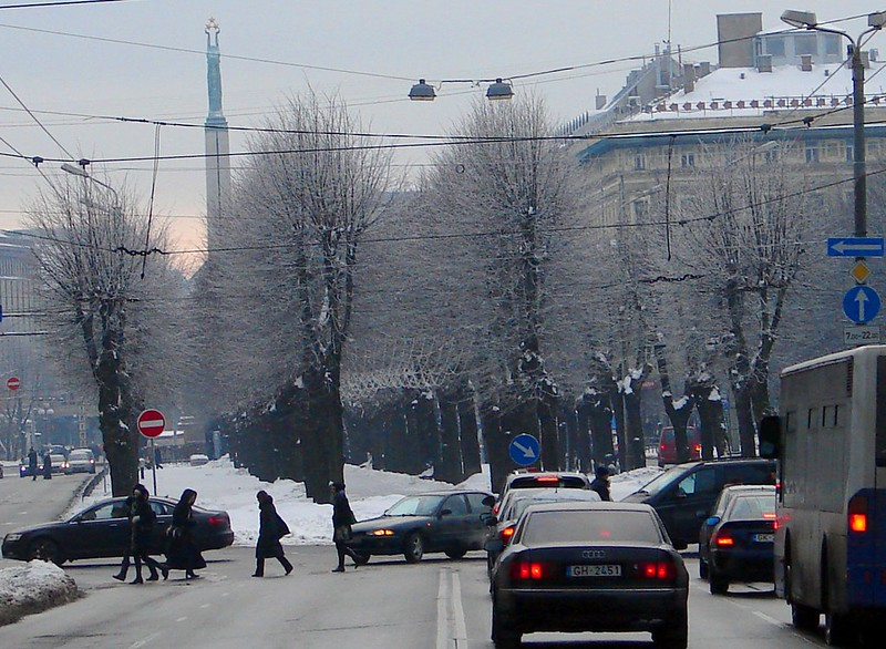 Brīvības iela (Freedom street) by aigarsbruvelis