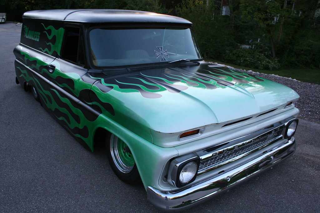 1964 Chevy Suburban Clean Cut Creations Vintage Auto Works