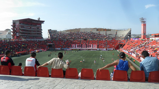 Cabecera Norte, Estadio Caliente