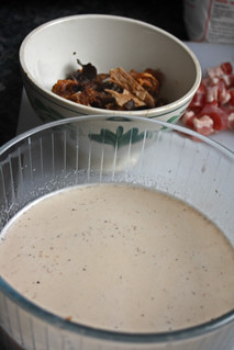 8413907482 d78b28e2d8 n Gratin de pappardelle aux champignons séchés et poitrine fumée