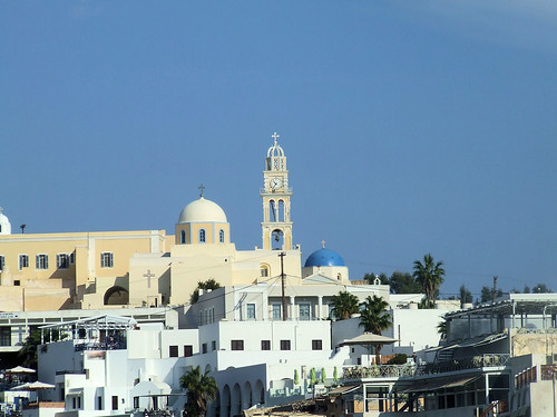 Greece - Santorini - Fira Cathedral Spire