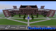 Minecraft Build: Woods Hall – The University of Alabama