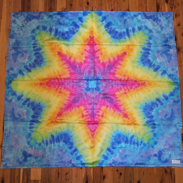 blue star blanket 0113