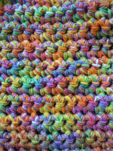 hand dyed cotton crochet by Lissylou.L