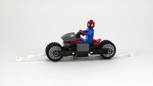 76004 Spider Cycle Web Slinging Spidey