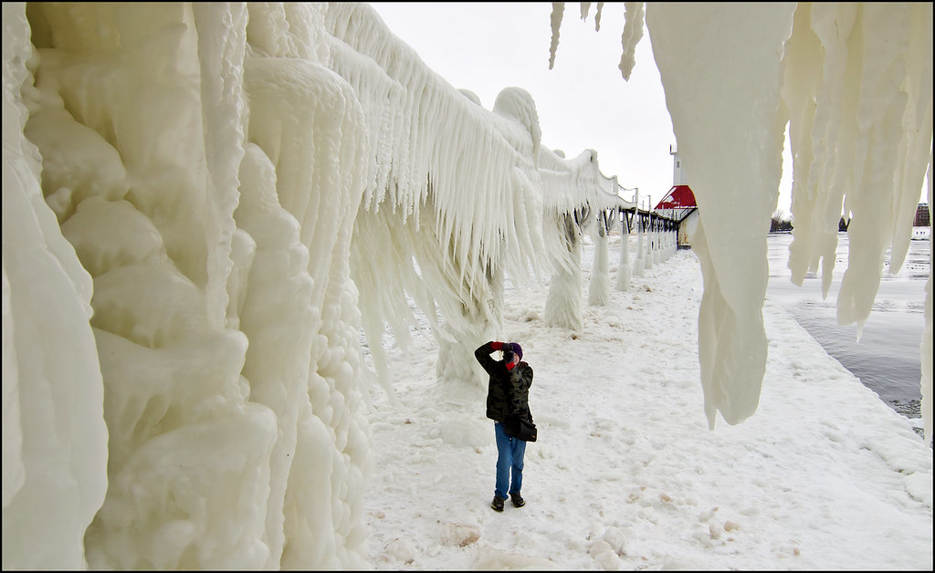 Among Giant Icicles