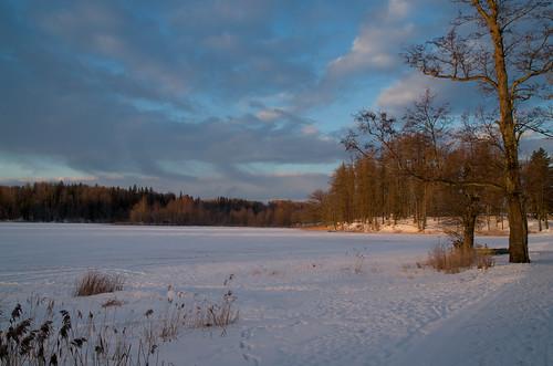 winter lake snow estonia pühajärve 157555mmf3555 pühajärv