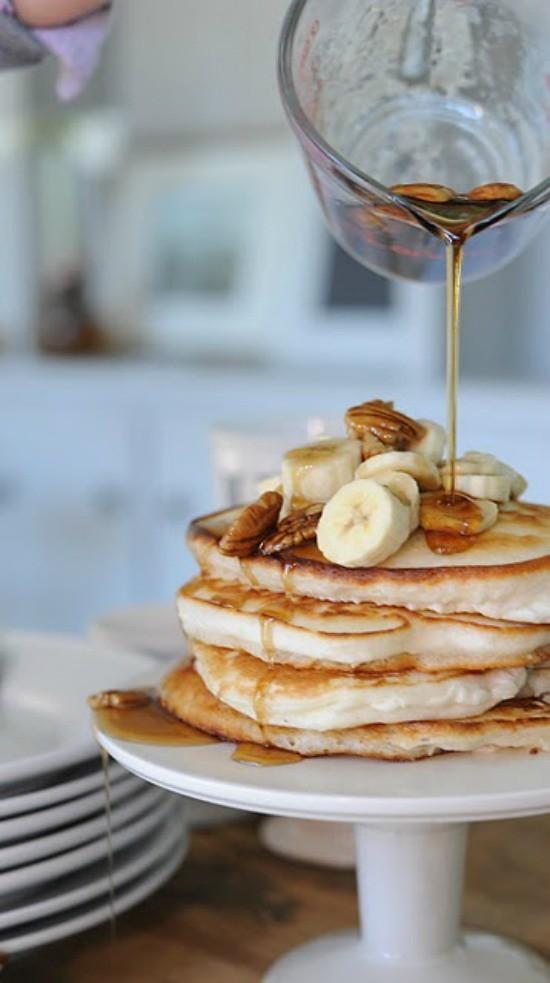 pancake stack.