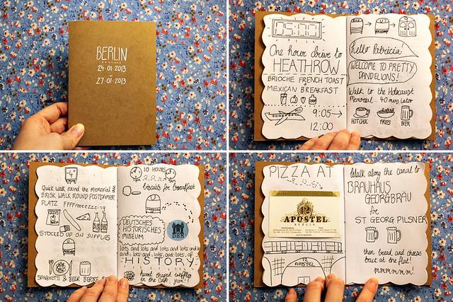Berlin doodle book