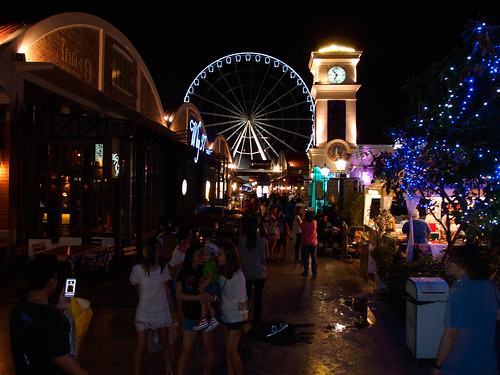 Asiatique The Riverfront River Mall Bangkok Thailand Asia Asien