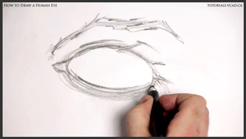 learn how to draw a human eye 004