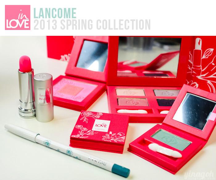 FotD: Lancome Spring Color Collection 2013 + Hypnose Star Mascara