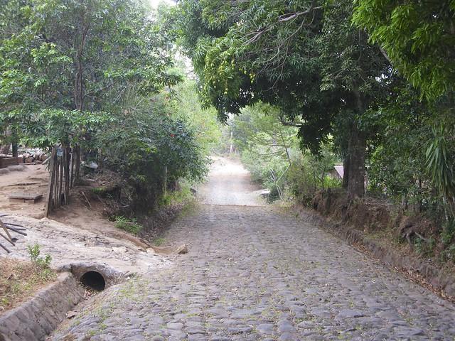 Fr Gränsentill Santa Ana, Salvador 040