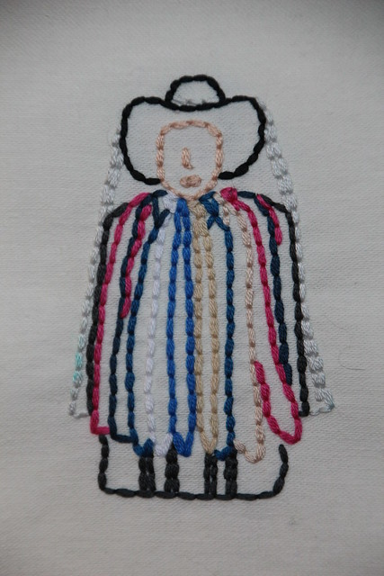 Maximon Embroidery