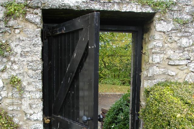LCH Ann 02 Garden Door at Traquair House