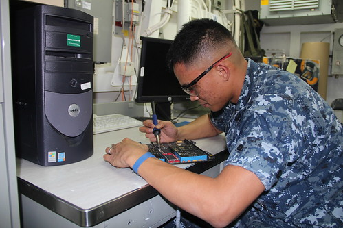 Electronics Technician Second Class (Surface Warfare) Marc Batoon of USS O'Kane