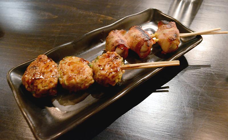 Grilled Chicken Meatballs